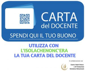 carta del docente buono spendibile